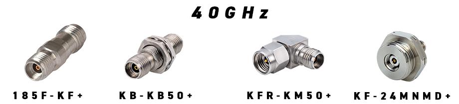 同軸アダプタ 40GHz 2.92mm